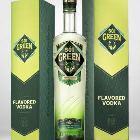Green Vodka 555 ML
